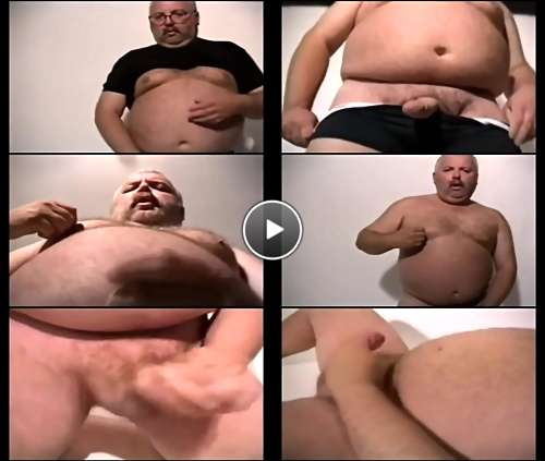 chubby daddy naked video