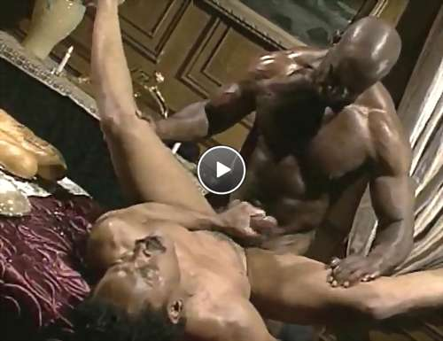 gay black cum video